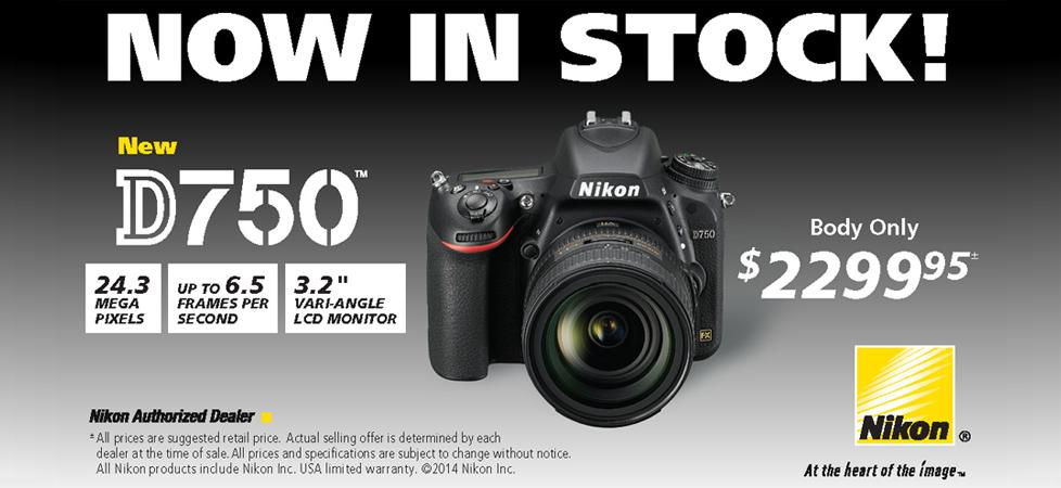 Nikon d750sale