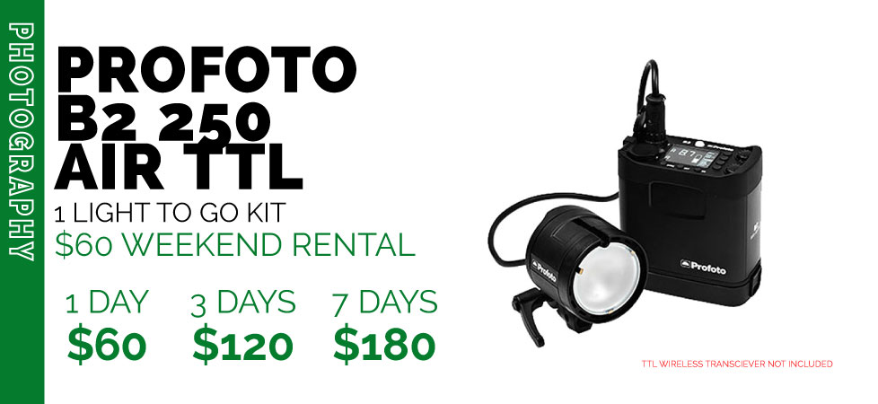 PROFOTO B2 TO GO RENTAL KIT