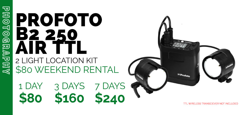 PROFOTO B2 LOCATION KIT RENTAL