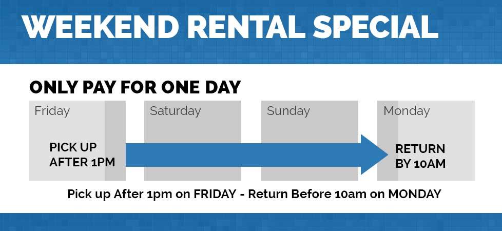 weekend rental